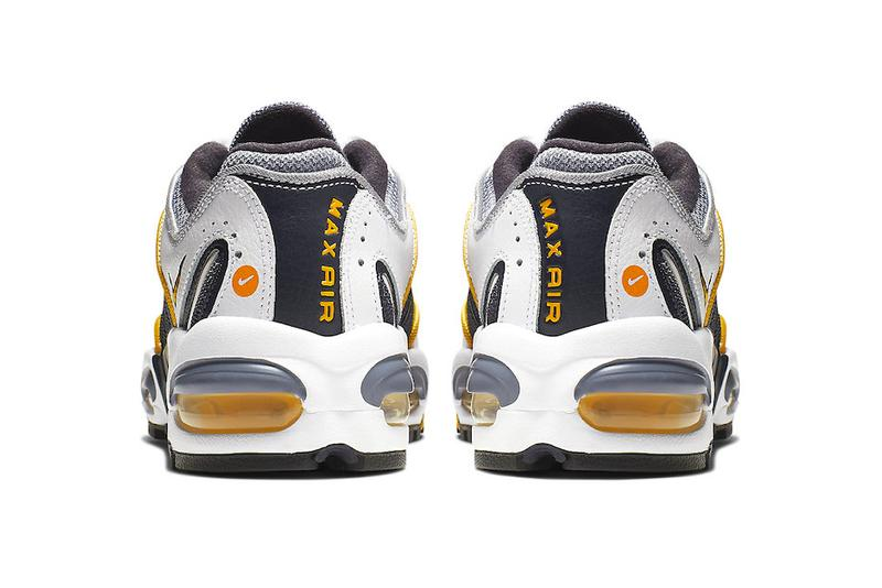 f5688987e3 Nike Air Max Tailwind 4 Navy Gold Release Info BQ9810-001 Grey