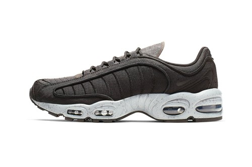 """The Nike Air Max Tailwind IV Receives a """"Black/Wolf Grey"""" Makeover"""