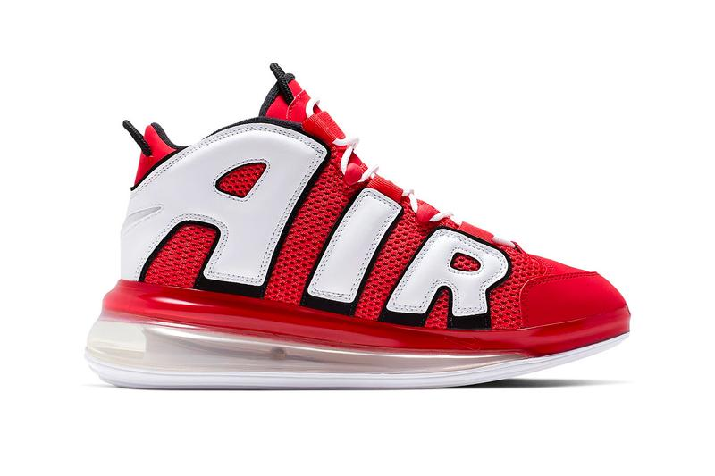 """Nike Air More Uptempo 720 """"University Red"""" Info release sneakers shoes"""