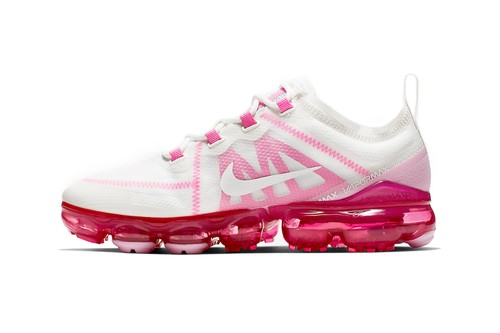 """Nike Air VaporMax 2019 Has a """"Pink Rise"""" Version on the Way"""