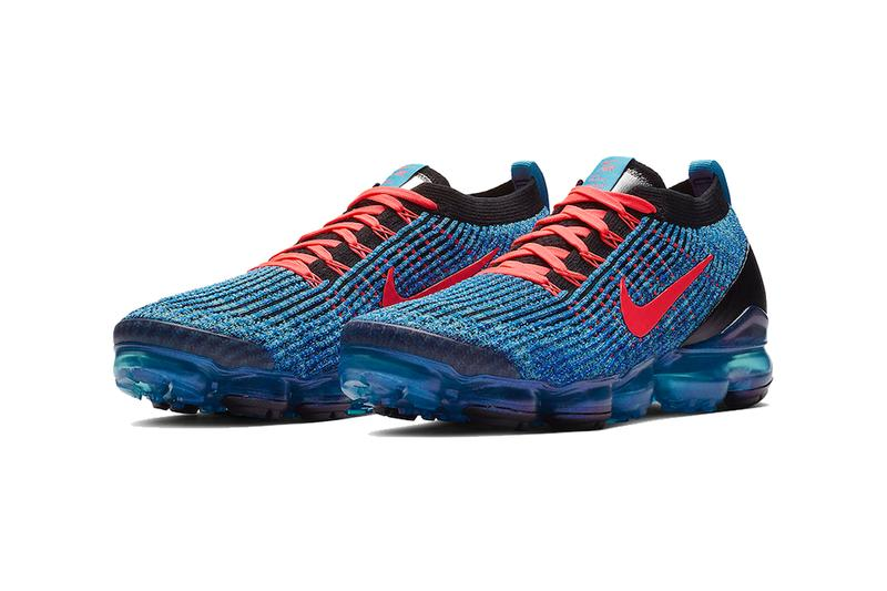 nike air vapormax 3.0 blue fury flash crimson racer blue black 2019 march nike sportswear footwear