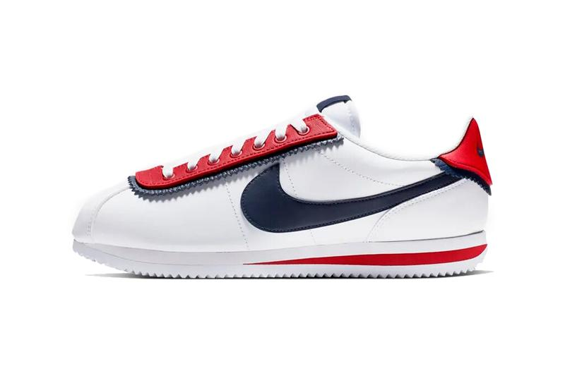 classic fit 3c6c8 c873f nike cortez se white university red obsidian 2019 footwear nike sportswear  CD7253 100