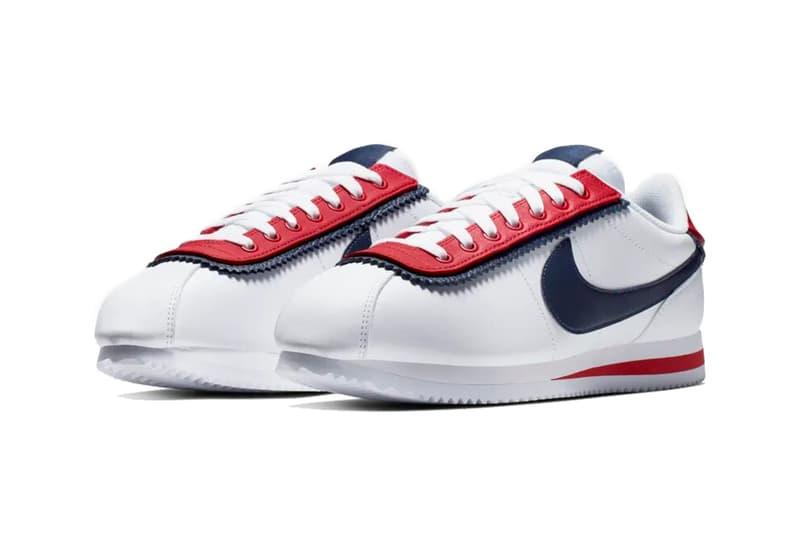 nike cortez se white university red obsidian 2019 footwear nike sportswear CD7253 100