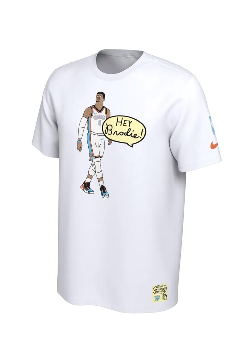 new product 27304 286b9 Gangster Doodles x Nike NBA Nickname T-Shirts | HYPEBEAST
