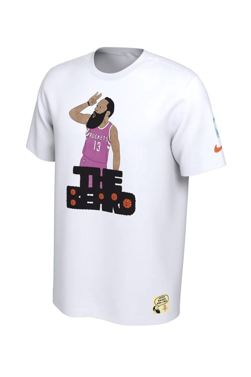 nike gangster doodles nba nickname t shirt graphic tee release