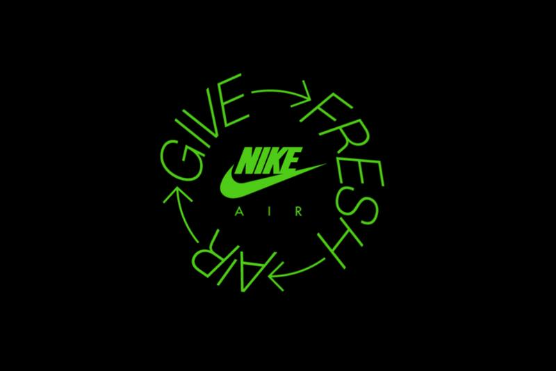 "Nike Partners With Sneaker Stores for ""Give Fresh Air"" Campaign"