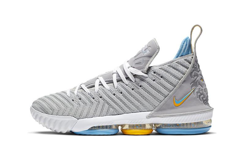 best website b634e 25647 Nike LeBron 16 MPLS James Basketball Shoe Sneaker Wolf Grey White  University Blue CK4765-001