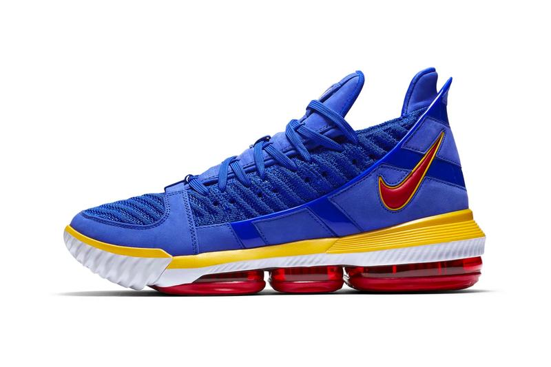Nike LeBron 16 SB Blue Release SNKRS James King