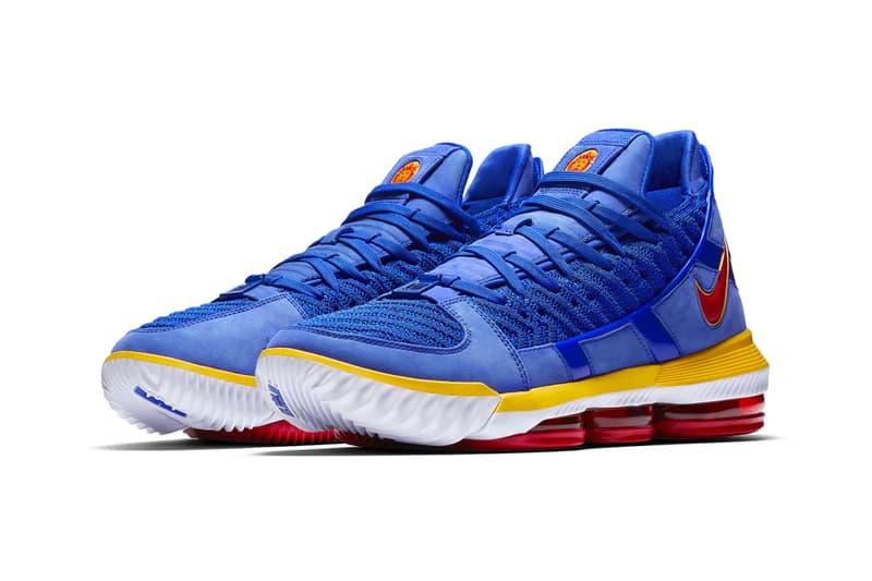 da322550c3b5 Nike LeBron 16 SB Blue Release SNKRS James King