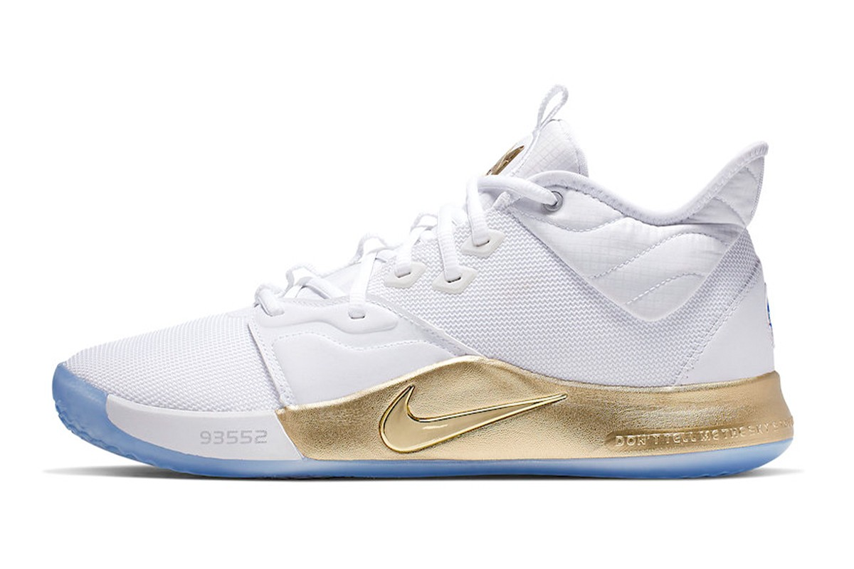 pretty nice 2856b e227a UPDATE Take an Official Look at the Nike PG 3 NASA