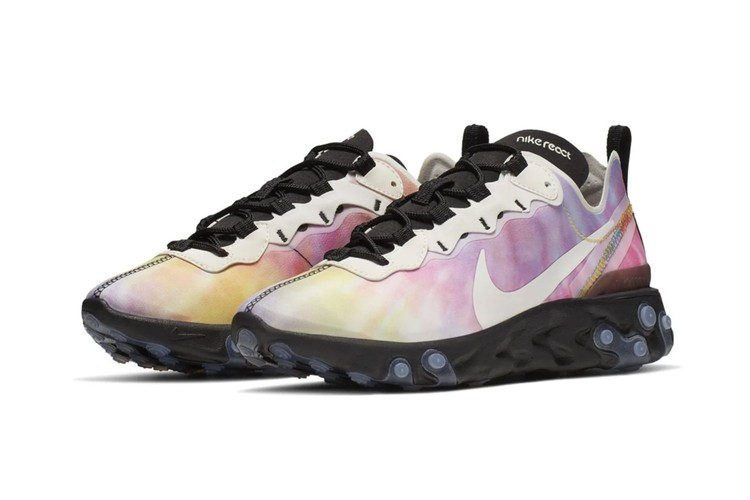 official photos e9972 b6f4f Nike is Releasing a Tie-Dye Colorway to the React Element 55