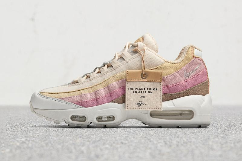 Nike Plant Color Collection First Look Release Details Air Max 95 Blazer Low Natural Dye Plant-based sneaker footwear sustainable
