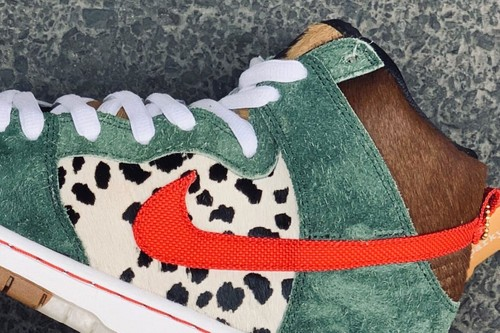 A Potential Nike SB Dunk High for 4/20 Surfaces