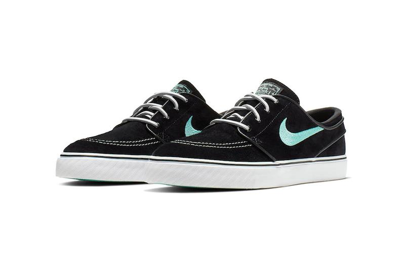 los angeles 8c544 59cf7 nike sb stefan janoski tiffany blue colorway sneaker release