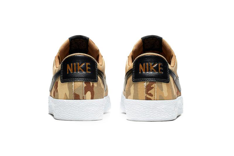nike sb zoom blazer low desert camo 2019 footwear