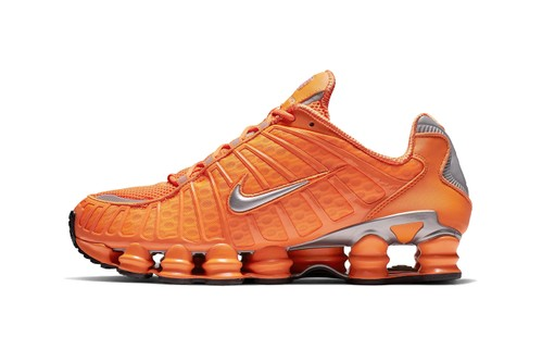 """The Nike Shox TL Bounces Back in """"Total Orange"""" and """"Triple Black"""""""