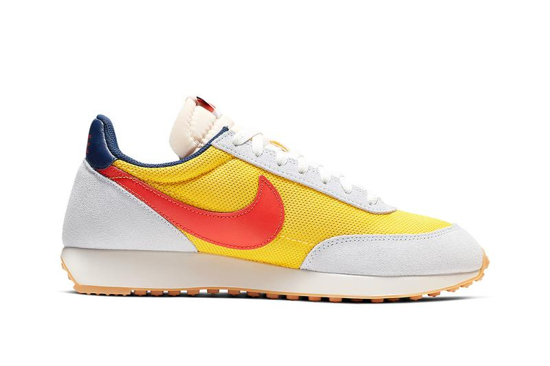 Nike Air Tailwind Team Orange Tour Yellow Blue Tint