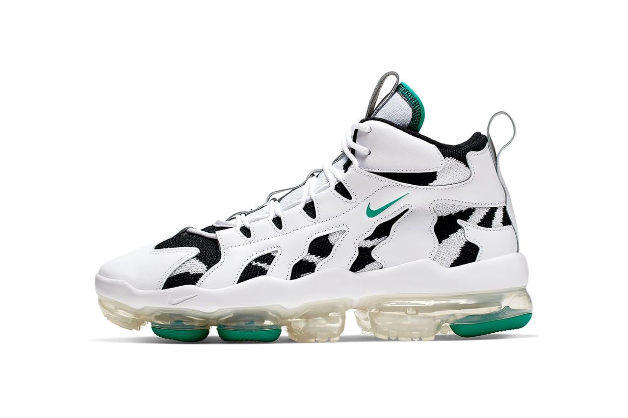 Nike VaporMax Gliese White, Green