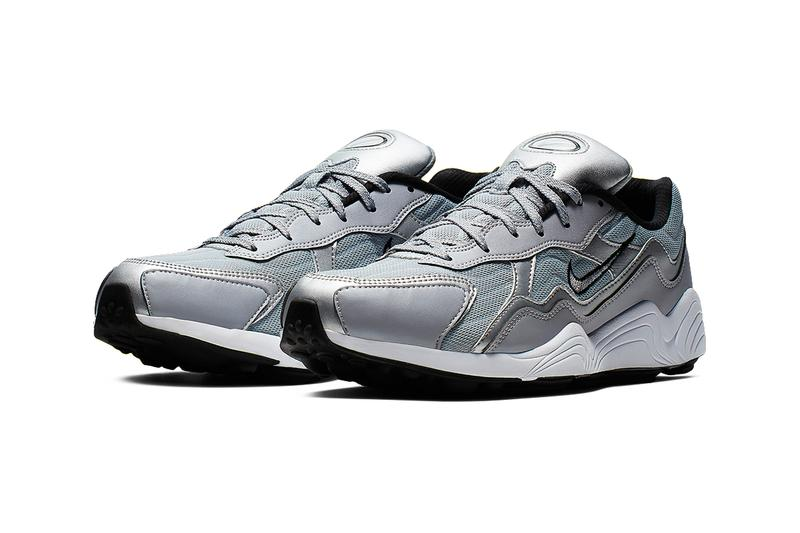 Nike Zoom Alpha Metallic Silver Colorway Release shoes sneakers fashion nike air