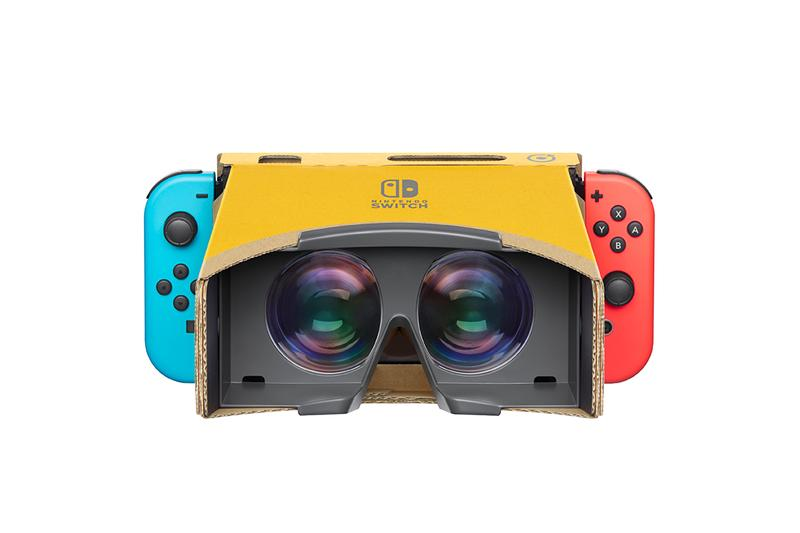 Nintendo Labo VR Kit Toy Con 4 Launch gaming DIY cardboard Labo Switch Colors Virtual Games