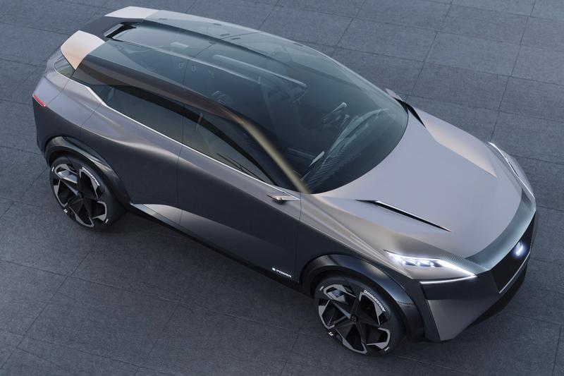 Nissan Crossover Design IMQ Unveiled in Geneva motorsports electric vehicle driving car