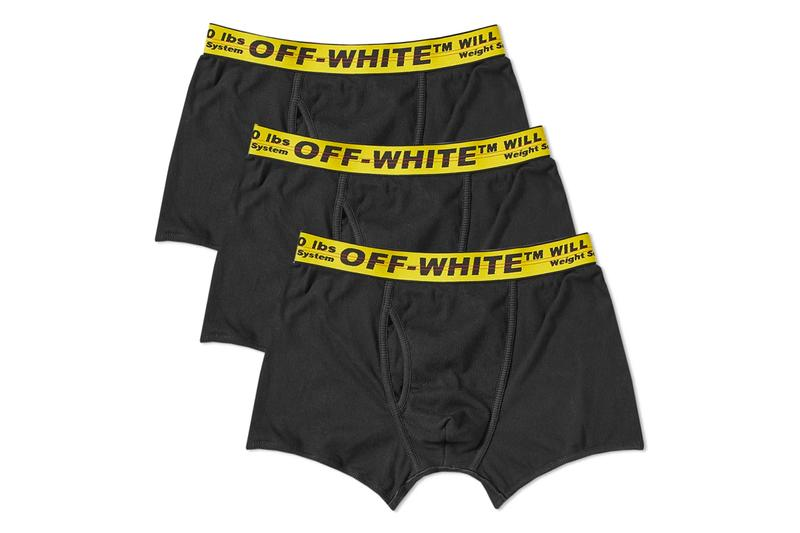 Off-White™'s Industrial Belt-Ribbed Boxer Briefs Are Here