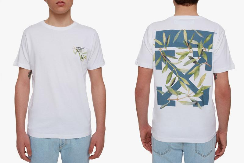 off white spring summer 2019 exclusive collection drop release date info buy gente roma collaboration virgil abloh march 6 2019 release date web store shop denim gradient leaf print ss19