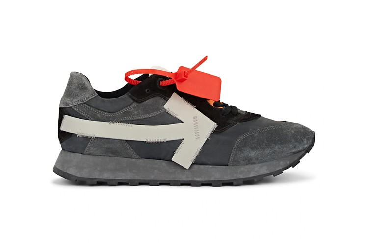 Off-White™ Arrow Sneaker Goes Neutral With Dusky Gray Release 717e8e80f3