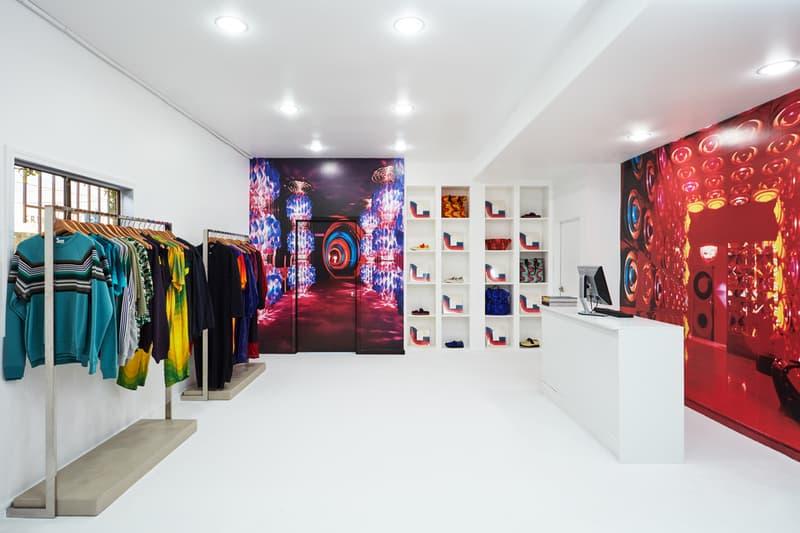 opening ceremony dries van noten pop up los angeles LA store