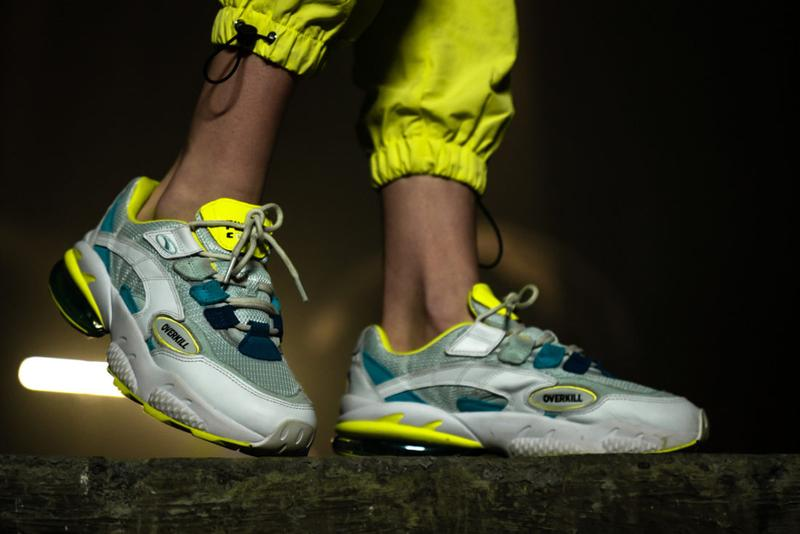 overkill puma cell venom 2019 march footwear release date blue toxic neon yellow white