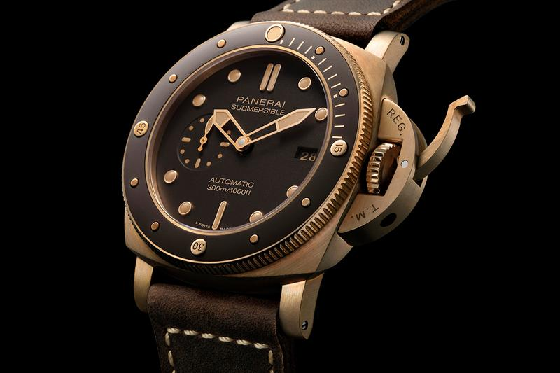 Panerai's Submersible Bronzo Is for the Modern Day Hero