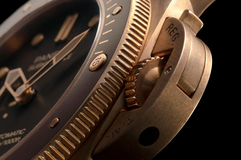 Panerai Submersible Bronzo Release Info chronograph watches timepiece