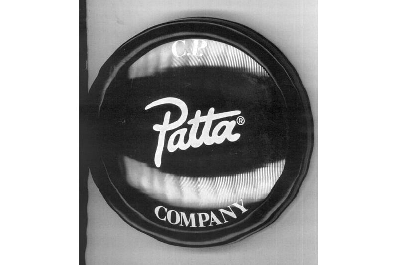 PATTA x CP Company Collaboration Teaser jackets hoodie goggle jacket massimo osti snow winter rain outerwear dutch Amsterdam preview
