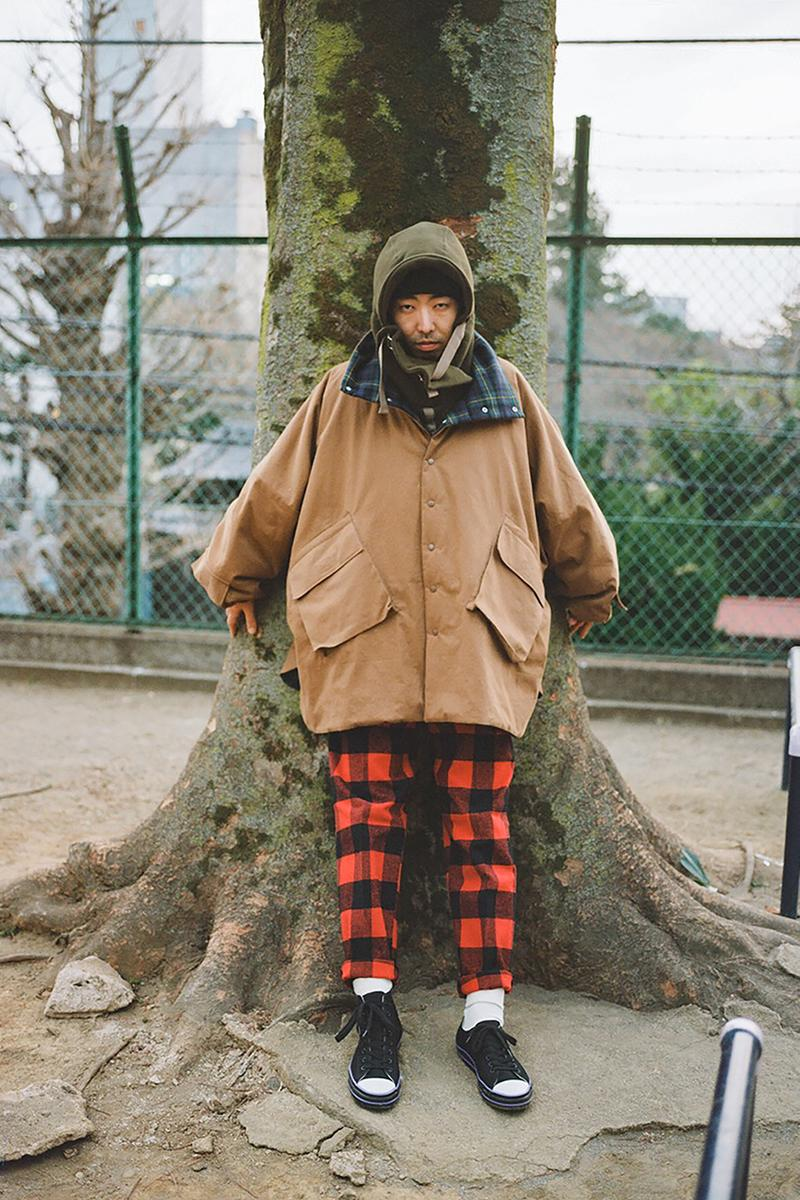 PHINGERIN Fall/Winter 2019 Lookbook Collection fw19 japan