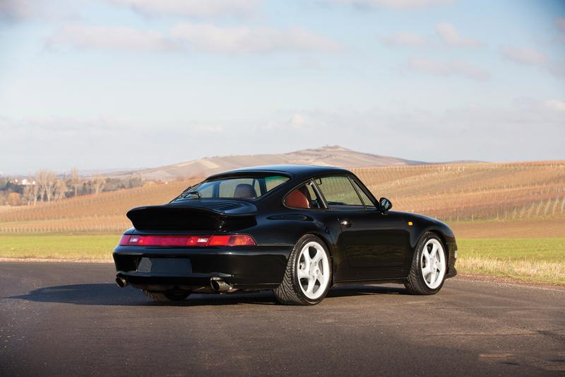 1994 Porsche 911 Turbo Prototype Black Bad Boys Will Smith Rare Sports Car