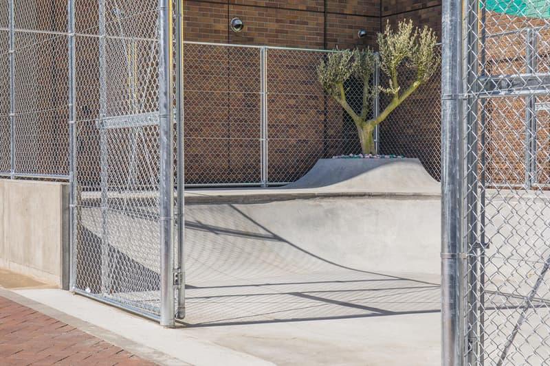 Qucon Skate Park fragment design Collaboration Tokyo Skate Park
