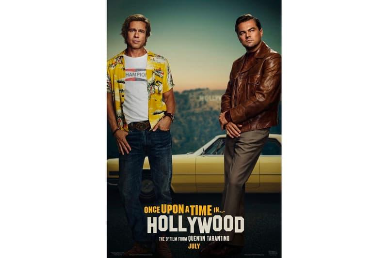 4e4e193b Once Upon a Time in Hollywood First Poster Quentin Tarantino Brad Pitt Leonardo  DiCaprio Al Pacino