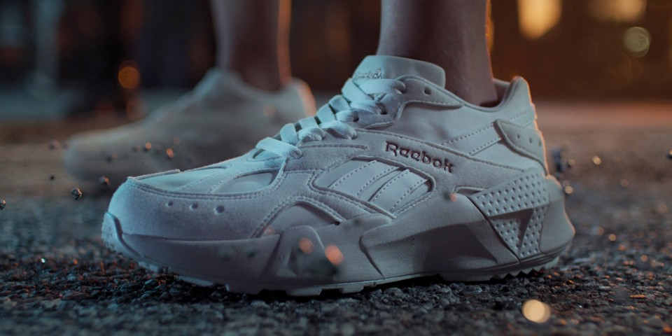 "Reebok Unveils Aztrek Double Silhouette in Eerie ""Storm the Court"" Project thumbnail"