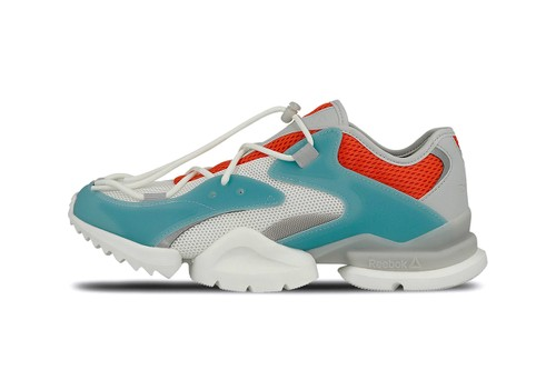 98542278387f Reebok Reworks Run.r 96 Silhouette With Pops of Color