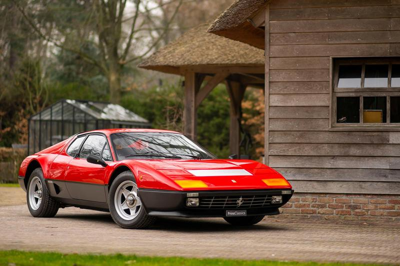 This Two-Tone Ferrari 512 BBi Rosso Corsa Is Now for Sale