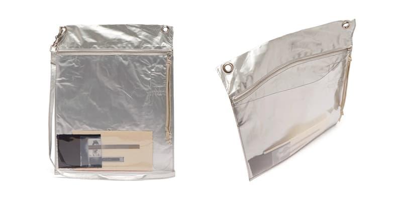 rick owens drkshdw plastic photo window cross body bag fashion men style Spring Summer 2019