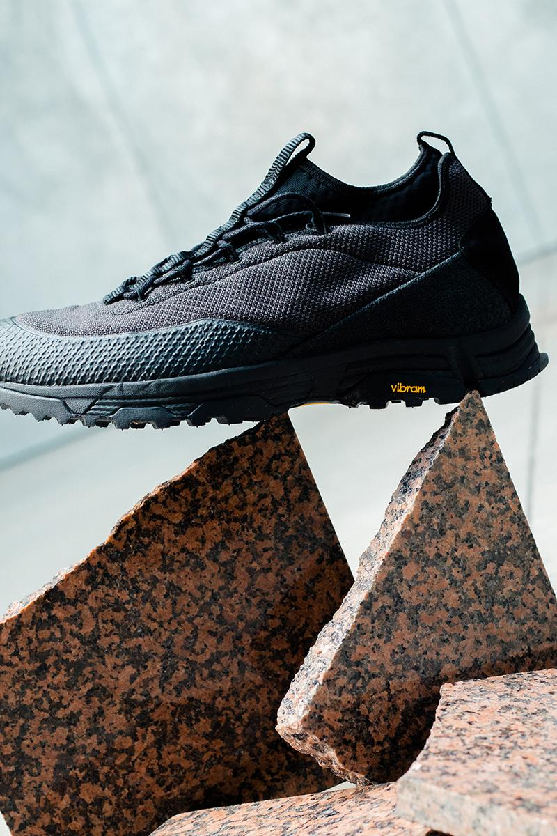 ROA Hiking Footwear SS19 Spring Summer 2019 Collection Lookbook Boots Sneakers Chunky Silhouettes Trekking Sole Unit Neon Green Pink Triple Black