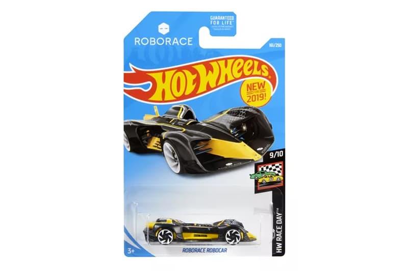 Roborace Hot Wheels Model Car Release info racing automation motorsport toy
