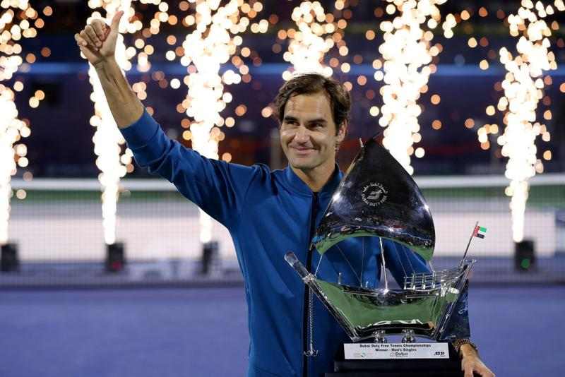 Roger Federer Wins 100th Singles Title