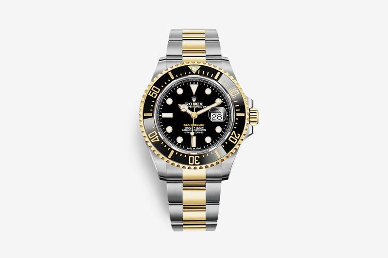 Rolex 18 CT Yellow Gold Sea Dweller Release Info watch timepiece luxury diving deep sea chronograph