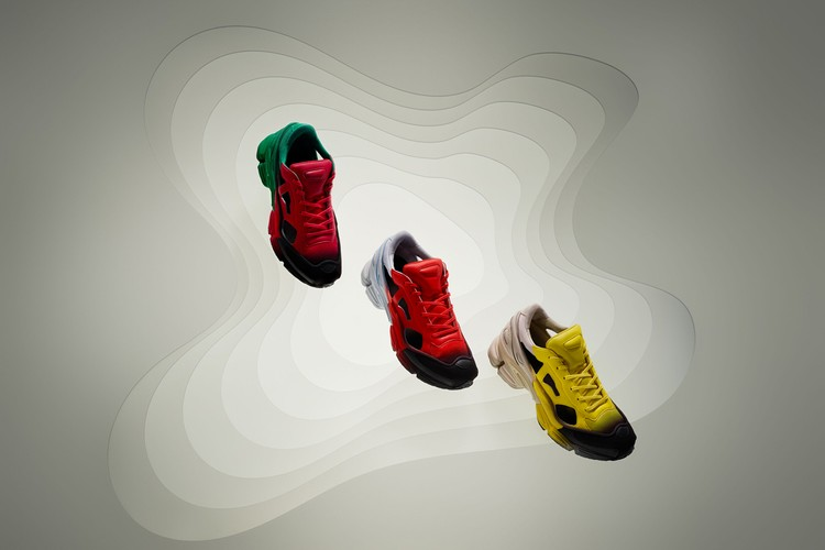 premium selection c81f1 6eec0 Raf Simons and adidas Unveils New RS Detroit Runner  Replicant Ozweego  Colorways