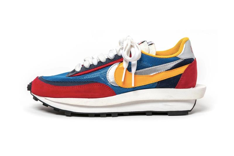 sacai x Nike LDV Waffle Daybreak Blue Yellow Red Green Orange Release Date Pushed Back Delayed Scheduled March 7