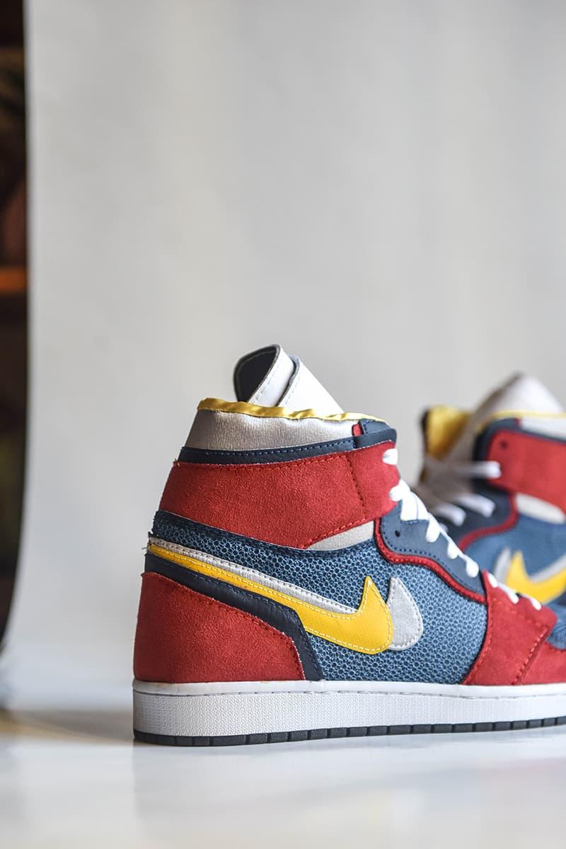 71529b5a594 AMAC Customs. Sacai Nike Jordan 1 High Closer Look fashion sneakers air  jordan shoes kicks