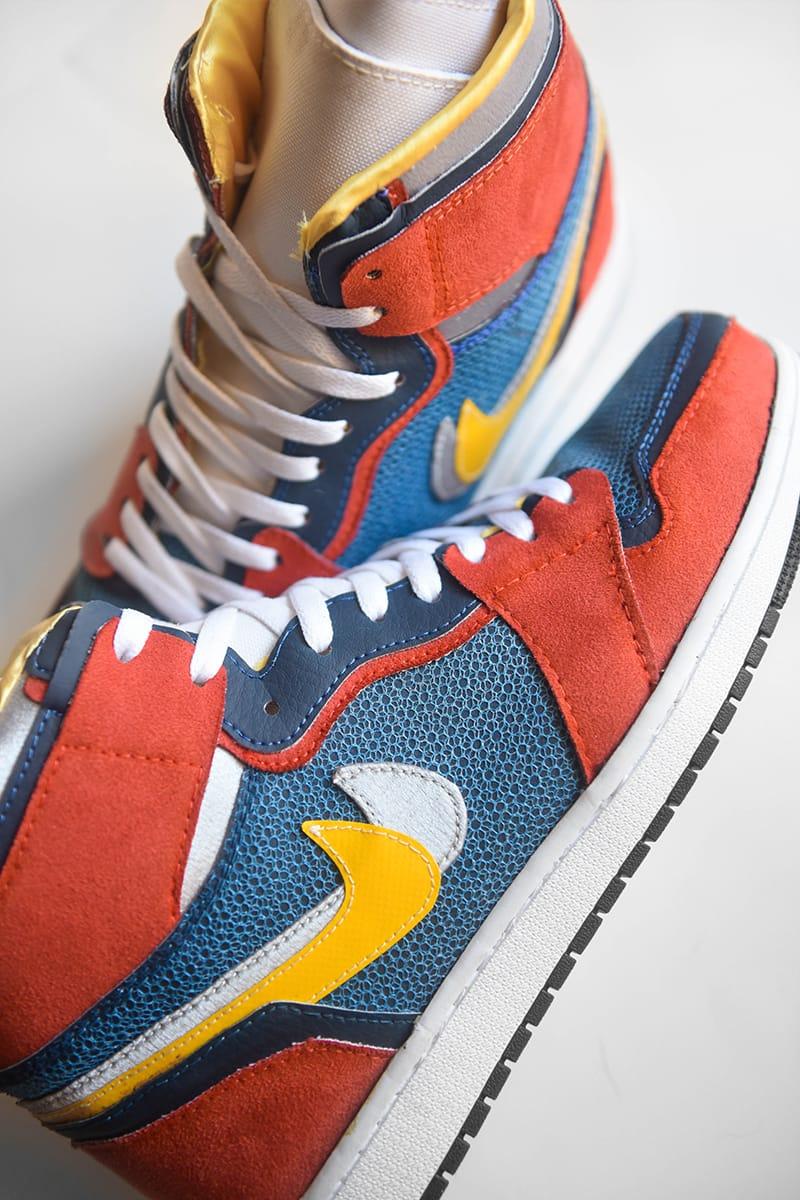 sacai x Air Jordan 1 AMAC Customs