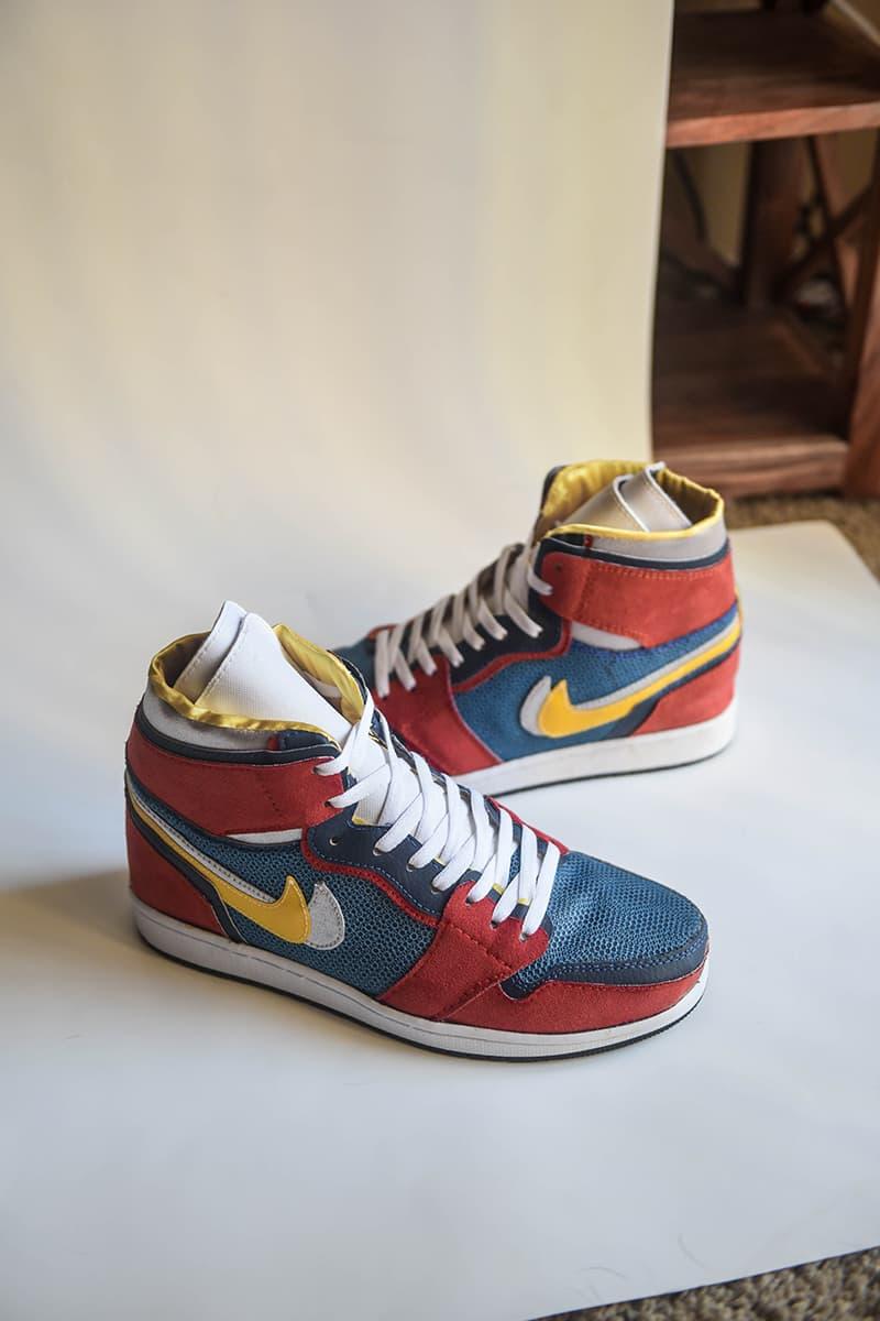 fb0a9f6555b Sacai Nike Jordan 1 High Closer Look fashion sneakers air jordan shoes  kicks. 1 of 7. AMAC Customs